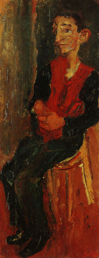 Chaim Soutine - Alfred, Bellhop at Auxerre