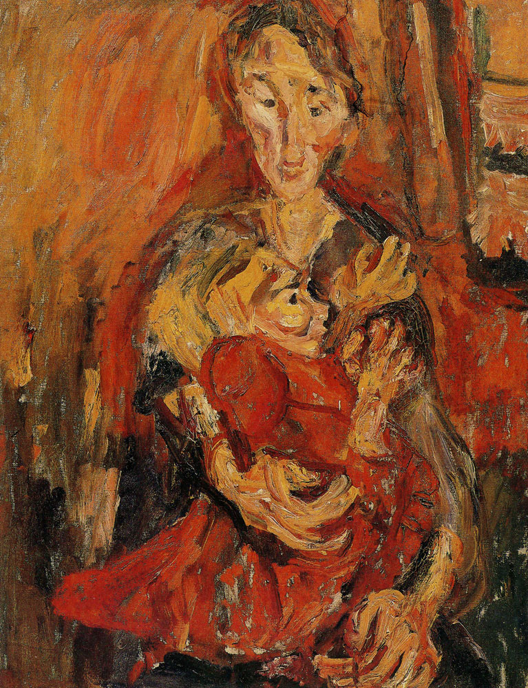 Chaim Soutine - Mother and Child
