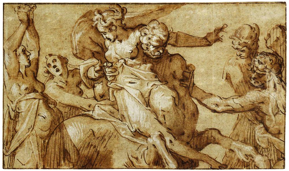 Bartholomeus Spranger - Hercules, Dejanira, and Nessus