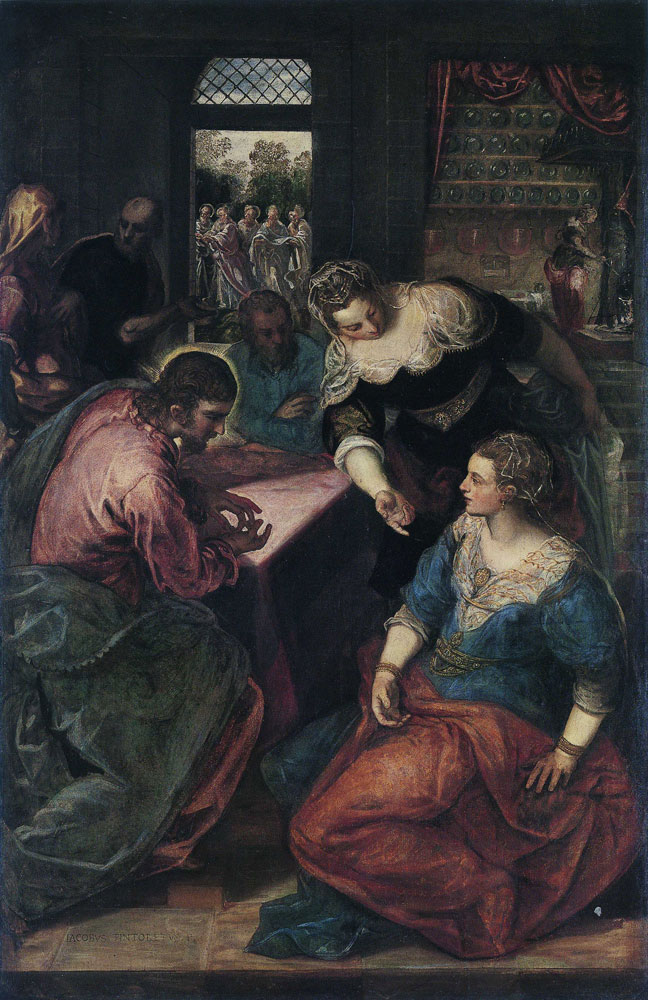 Tintoretto - Christ in the House of Maria and Martha