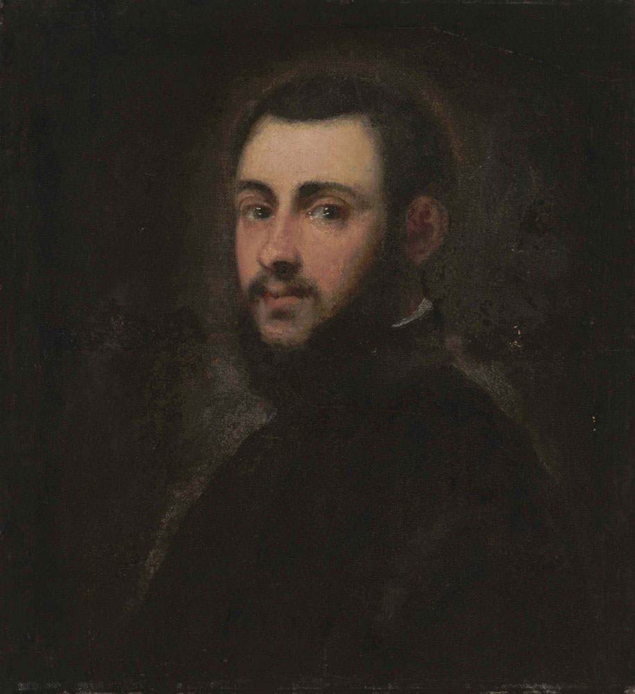 Attributed to Tintoretto - Portrait of a gentleman