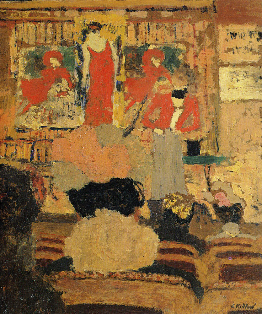 Edouard Vuillard - The Conjuring Act