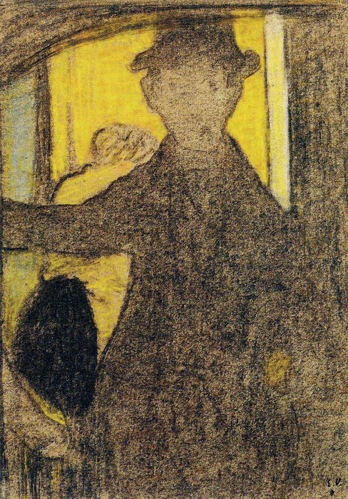 Edouard Vuillard - Man on a Staircase