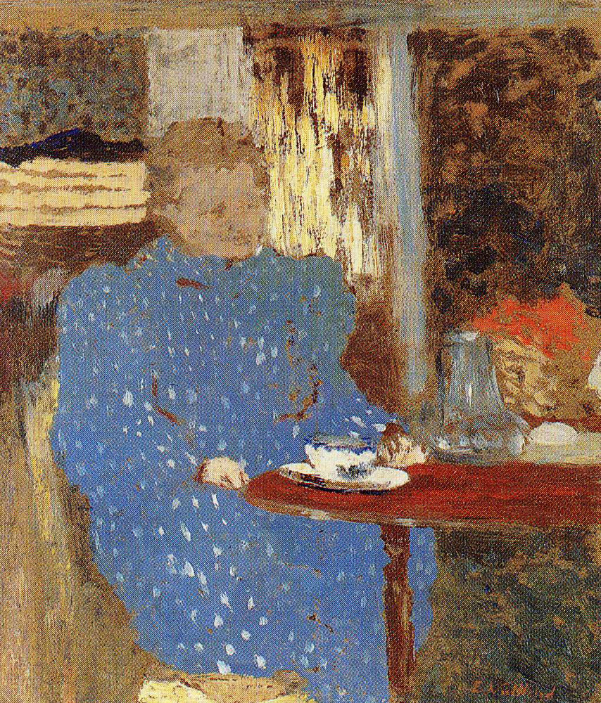 Edouard Vuillard - Old Woman Seated at a Table