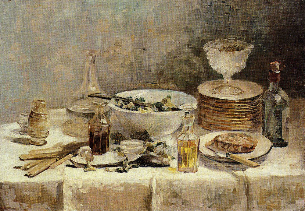 Edouard Vuillard - Still Life with a Bowl of Salad