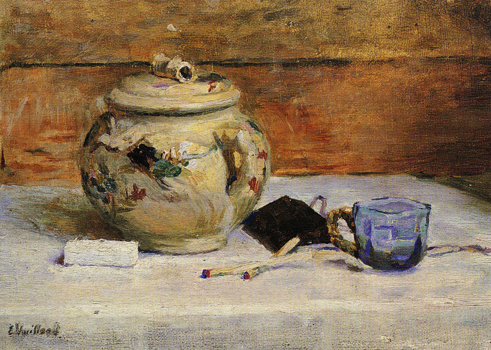 Edouard Vuillard - Sugar Bowl and Matches