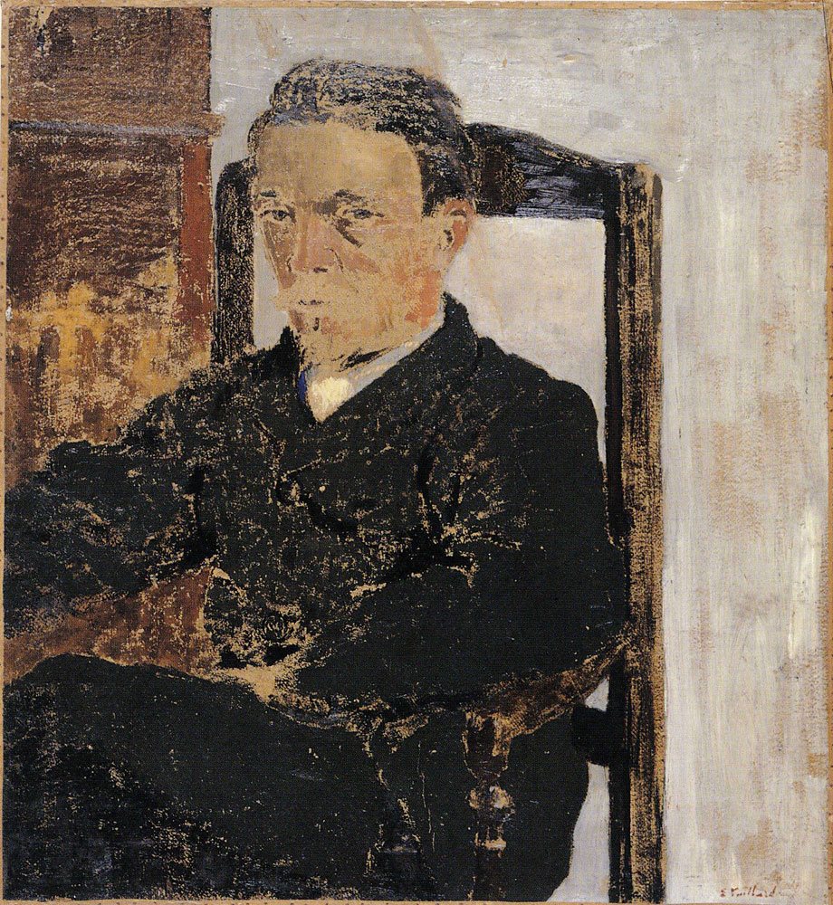 Edouard Vuillard - Portrait of Vallotton