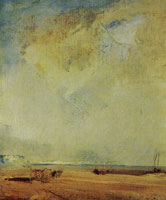 Richard Parkes Bonington View of the Coast of Normandy