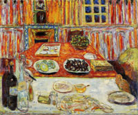 Pierre Bonnard Interior: Dining Room