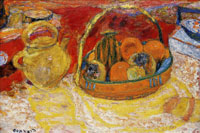 Pierre Bonnard - Still Life, Yellow and Red