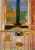 Pierre Bonnard Table in Front of the Window