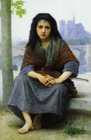 William-Adolphe Bouguereau - Gypsy Girl