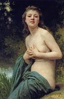 William-Adolphe Bouguereau - Spring Breeze