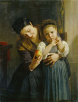 William-Adolphe Bouguereau The Two Sisters
