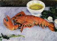 Gustave Caillebotte Still Life with Lobster