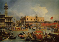 Canaletto - The Return of the Bucintoro on Ascension Day