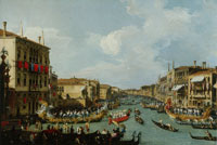 Canaletto - Regetta on the Grand Canal