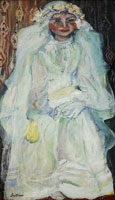 Chaim Soutine - The Communicant (The Bride)