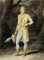Jacques-Louis David - Study for a Costume