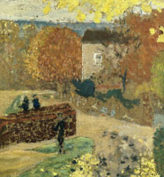 Edouard Vuillard Autumn at Valvins. View of the Seine with the Back of Mallarmé's House on the Right