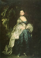 Thomas Gainsborough Portrait of Lady Alston