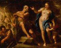Luca Giordano - Venus at Vulcan's Forge