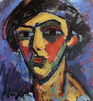 Alexej von Jawlensky - Head of a youth