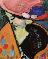 Alexej von Jawlensky - Inclined head