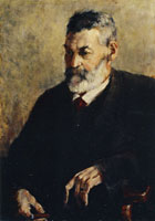 Franz Marc Portrait of the Artist's Father