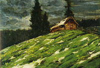 Franz Marc View from the Staffelalm