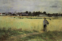 Berthe Morisot - In the Wheatfield