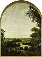 Frans Post Varzea Landscape with Plantation House