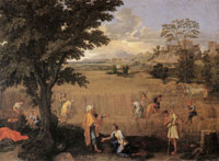 Nicolas Poussin - Summer or Ruth and Boaz