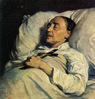 Henri Regnault Mme. Mazois (The Artist's Great-Aunt on Her Deathbed)