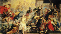 Peter Paul Rubens The Apotheosis of Henry IV and the Proclamation of the Regency of Marie de' Medici