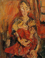 Chaim Soutine Mother and Child