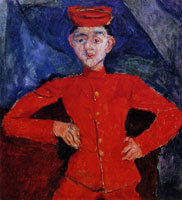 Chaim Soutine Page Boy at Maxim's