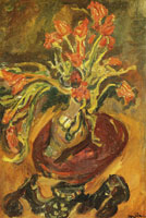 Chaim Soutine Still Life with Tulips