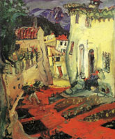 Chaim Soutine Street at Cagnes