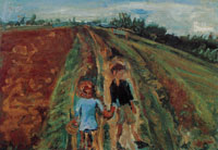 Chaim Soutine Two Children on the Road