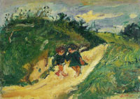 Chaim Soutine Two Children on a Road