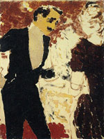 Edouard Vuillard At the Buffet