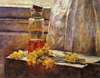 Edouard Vuillard Daffodils and Jar