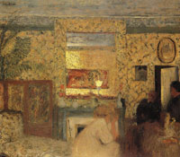 Edouard Vuillard The Natansons' Drawing-Room, Rue Saint-Florentin