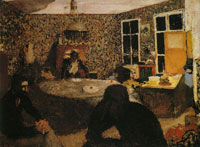 Edouard Vuillard Family Evening