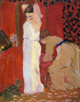 Edouard Vuillard The Fitting