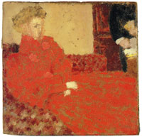 Edouard Vuillard Lady in Red