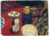 Edouard Vuillard Objects under a Lamp