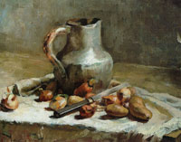 Edouard Vuillard - Pewter Jug and Vegetables