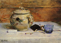 Edouard Vuillard Sugar Bowl and Matches